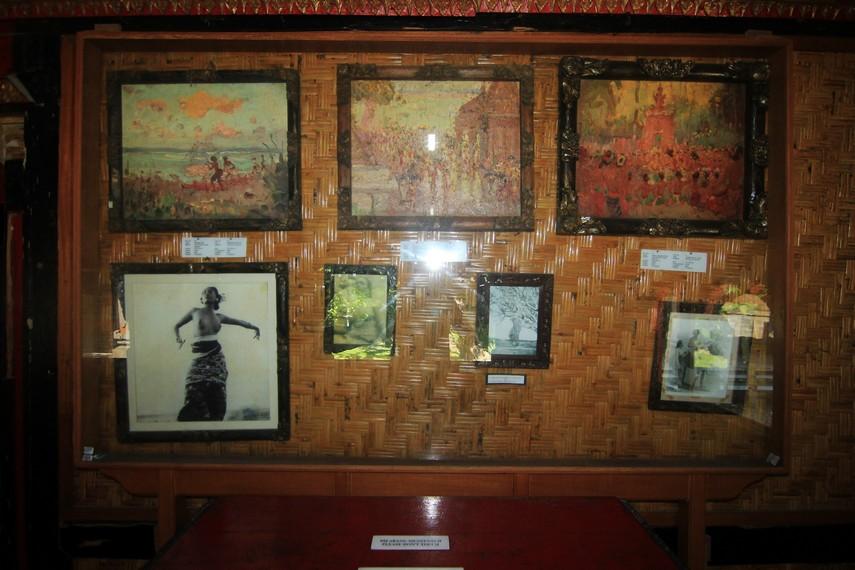 Empat puluh tujuh lukisan yang dipamerkan di museum ini bertema Bali