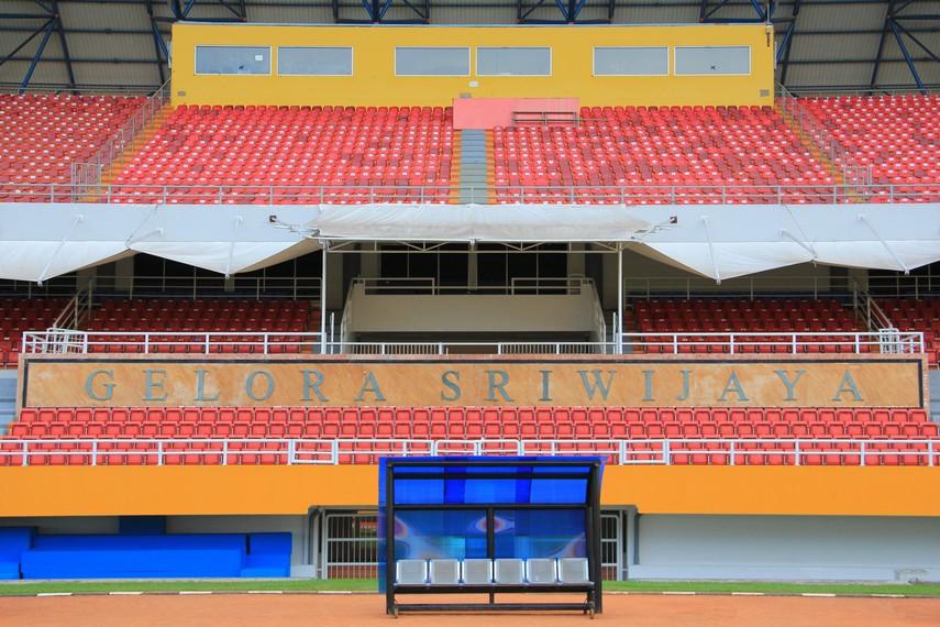 Stadion ini tidak bisa dilepaskan dari klub kebanggaan masyarakat Palembang Sriwijaya FC