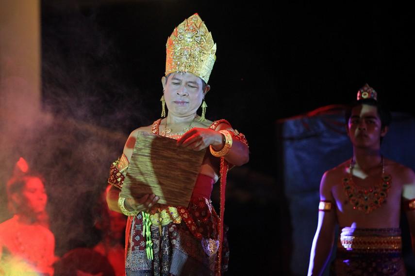 Berdasarkan pertimbangan sejarah, Festival Sriwijaya 2014 diselenggarakan di Taman Purbakala Kerajaan Sriwijaya
