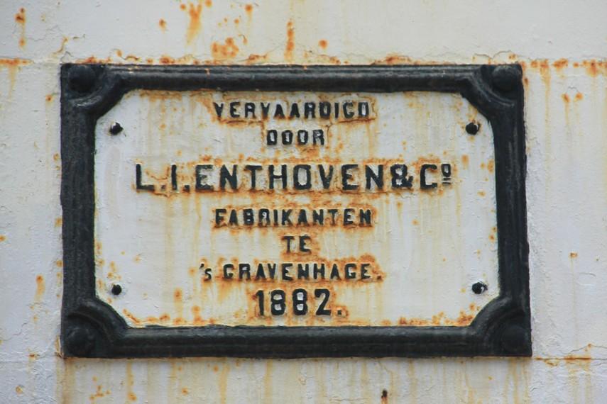 Mercusuar ini dibangun pada tahun 1882  oleh seorang Belanda bernama ZM Willem III