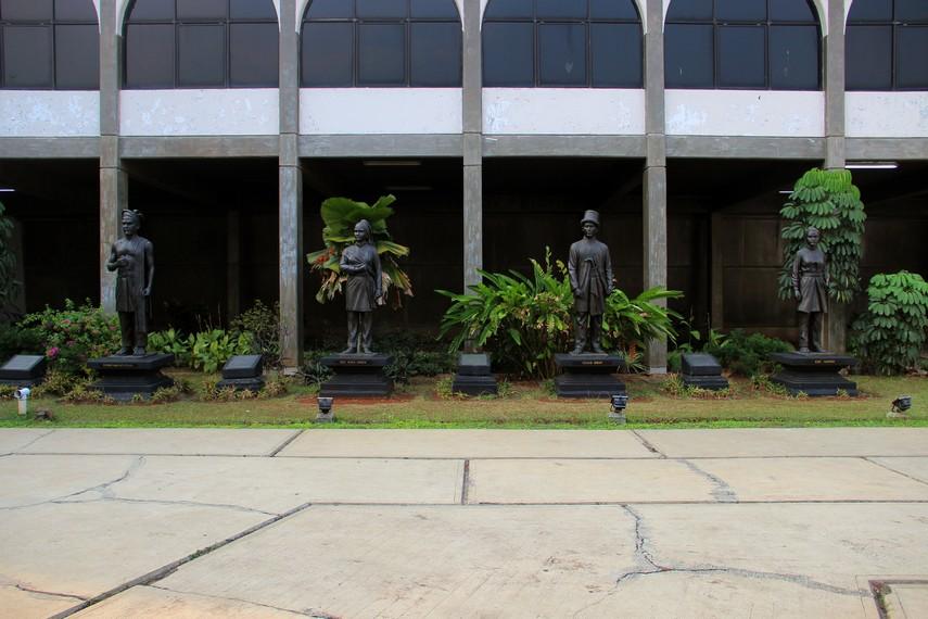 Museum Keprajuritan dibangun diatas lahan seluas 4 hektar di area Taman Mini Indonesia Indah