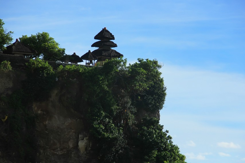 Secara harfiah, uluwatu berarti puncak batu, sesuai dengan posisi pura ini berada