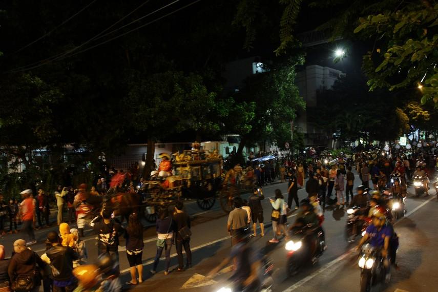 Solo Karnaval digelar untuk memperingati hari lahir Kota Solo yang ke 270