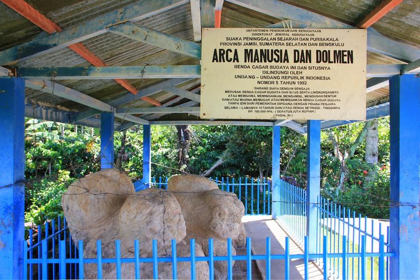 Arca megalithik dari situs-situs yang ditemukan di Pagaralam dibedakan menjadi dua jenis