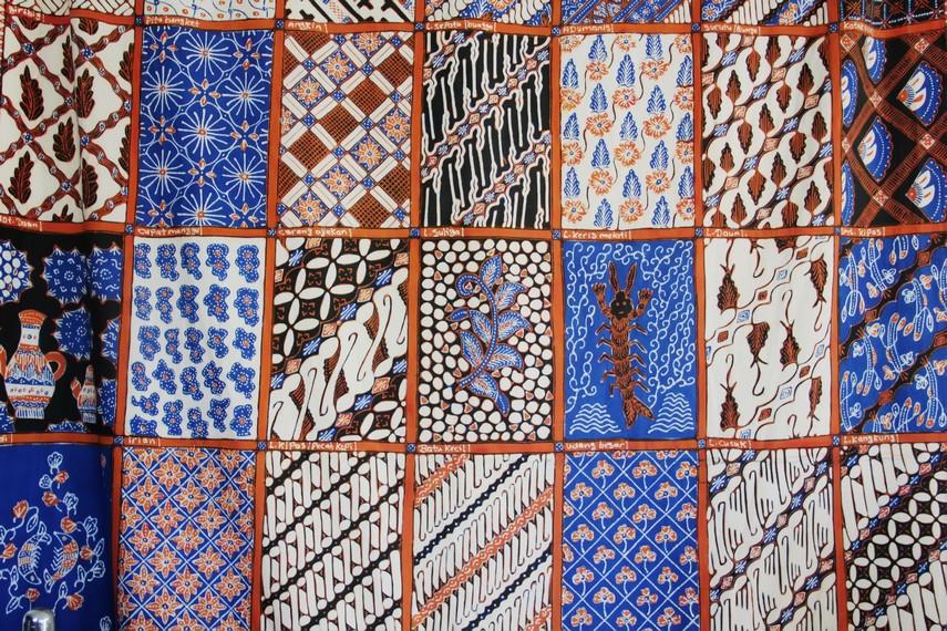 Batik garutan memiliki lebih dari 80 jenis motif