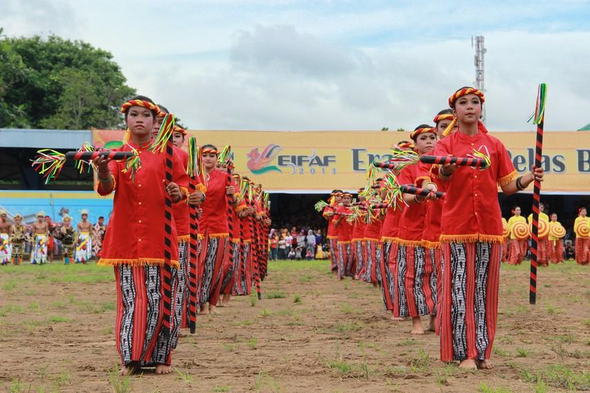 Erau kembali dilangsungkan sejak 1971 atas izin Kesultanan sebagai sarana pelestarian budaya