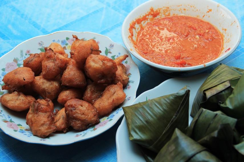 Sala lauak menjadi salah satu kuliner wajib yang harus dicoba saat bertandang ke Kota Pariaman