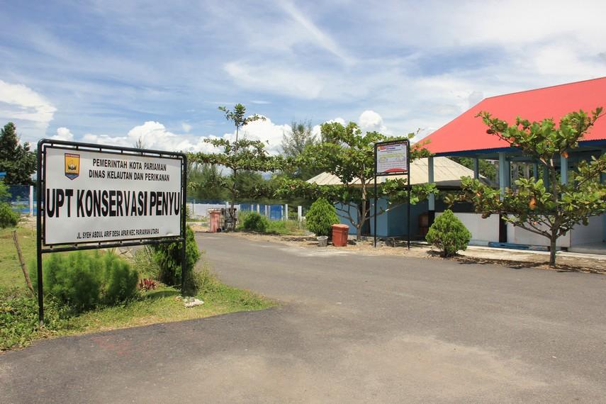 Pusat konservasi ini terletak di Jalan Syeh Abdul Arif, Desa Apar, Kecamatan Pariaman Utara, Sumatera Barat
