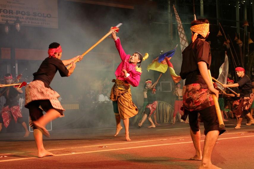 Gagasan konsep pertunjukan Adeging Kutha Sala sendiri menitik beratkan pada sejarah terbentuknya Kota Surakarta
