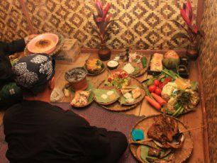 Memantapkan Niat Seren Taun dalam Ritual Neteupken