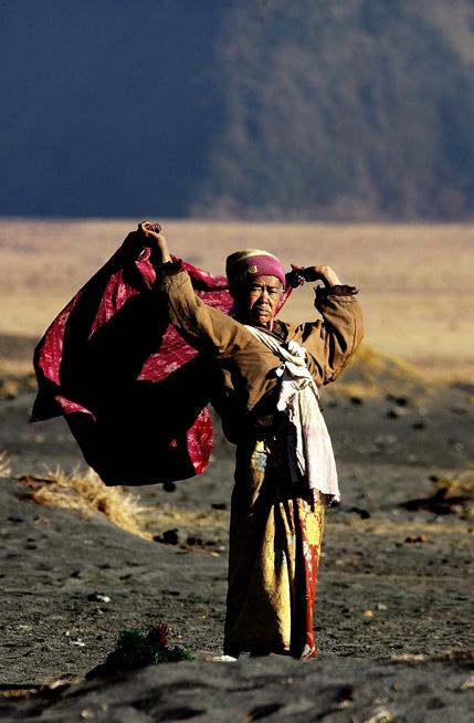 Wanita dari Suku Tengger