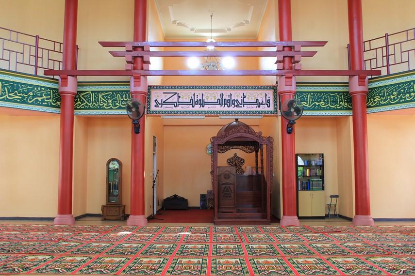 Bangunan masjid Cheng Ho berukuran sekitar 20x20 meter dengan luas lahan sekitar 4.990 meter persegi