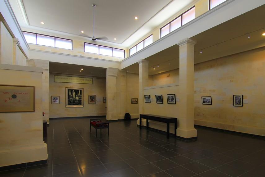 Beberapa tokoh penting penggagas museum antara lain Tjokorda Gde Agung Sukawati, Walter Spies, dan Rudolf Bonnet