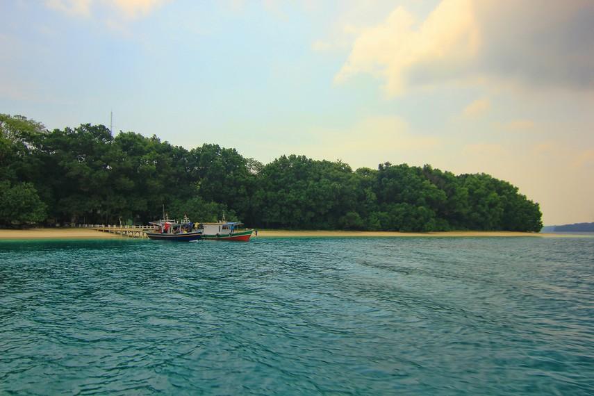 Ukurannya tidak begitu luas, namun Pulau Peucang menawarkan pesona alam yang begitu alami