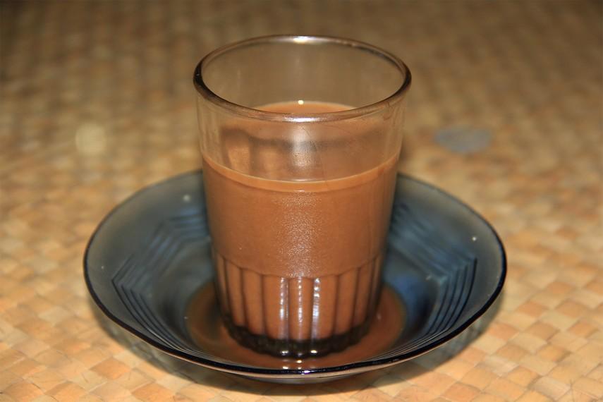 Secangkir kopi Manggar yang memang sudah terkenal memiliki rasa yang enak dan nikmat
