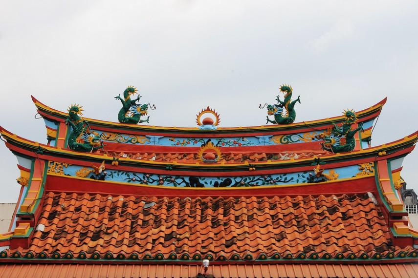 Sejak dibangun pada 1684, klenteng ini hanya satu kali mengalami renovasi, yaitu tahun 1844
