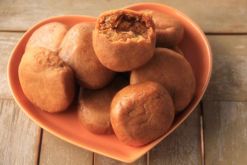 Sejarah kue ini dahulu dibawa oleh imigran Suku Hakka dari negeri Tiongkok