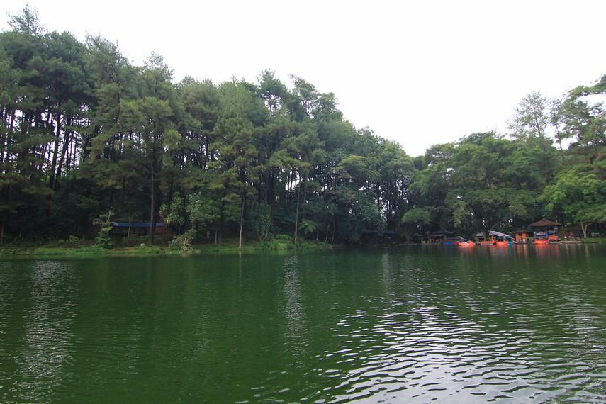 Telaga Remis menempati lahan luas keseluruhan 13 hektar dan 3,5 hektar untuk luas danau