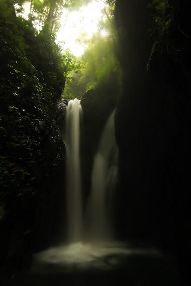Air Terjun Kembar atau disebut juga Campuhan adalah dua air terjun setinggi 20 meter yang alirannya saling bertemu