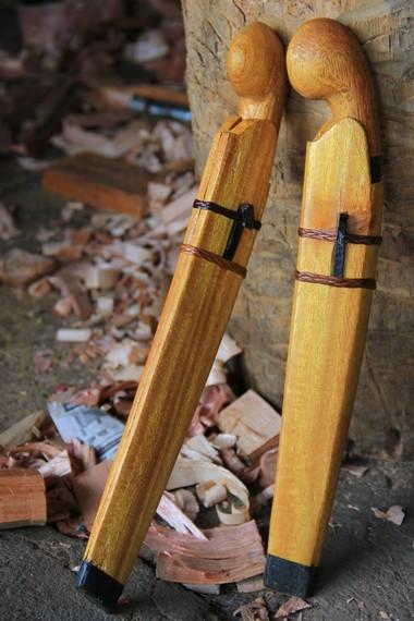Selain digunakan sebagai alat berkebun, Kudhok juga menjadi salah satu oleh-oleh khas pagaralam