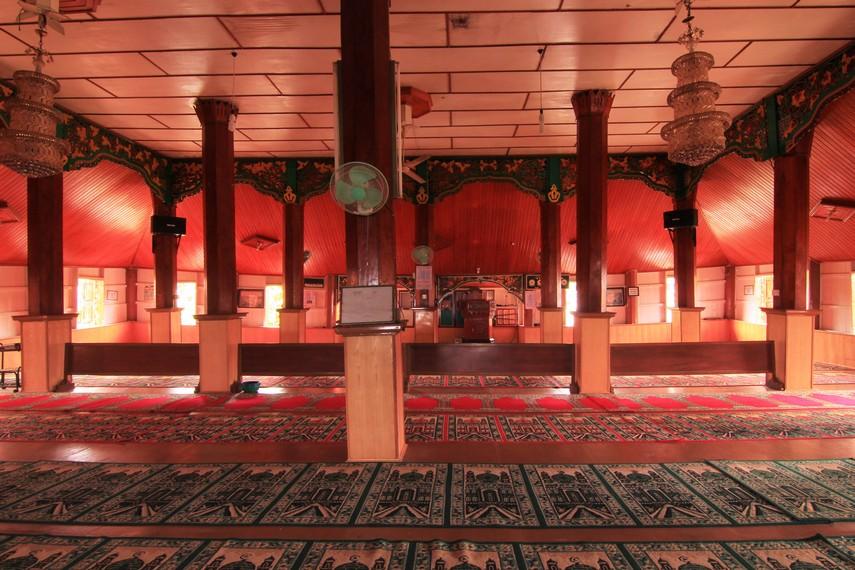 Luas bangunan masjid ini telah diperluas menjadi 400 meter persegi, dari luas awal 289 meter persegi