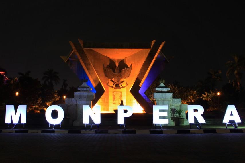 Sementara lima sisi menggambarkan lima wilayah keresidenan yang tergabung dalam Sub Komandemen Sumatera Selatan