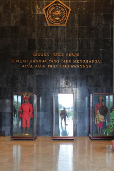 Museum Keprajuritan resmi dibuka oleh Mendiang Mantan Presiden Soeharto pada tahun 1987