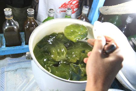 Ubek Tawa salah satu minuman khas Bukitinggi