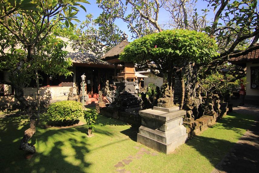 Museum ini awalnya merupakan rumah sekaligus studio milik Le Mayeur yang kemudian dihibahkan kepada Pemerintah Indonesia