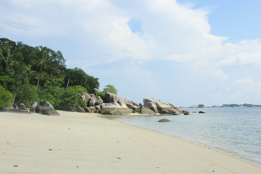 Bila sedang beruntung, pengunjung yang datang ke pulau ini dapat mendengarkan suara-suara kera yang berada di dalam hutan