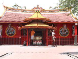 Klenteng Kebajikan Emas, Klenteng Kim Tek le (Jin De Yuan)