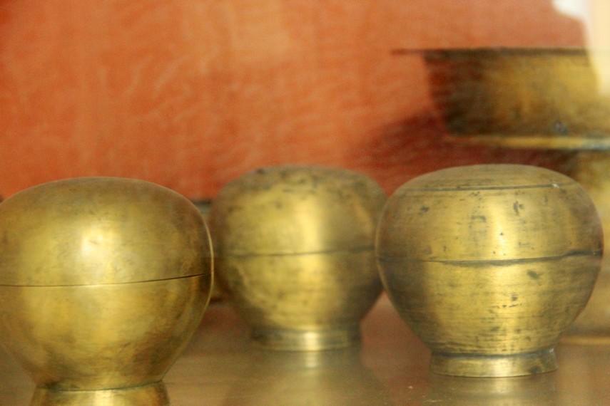 Sisa-sisa peninggalan Kerajaan Badau yang dahulu pernah menguasai wilayah Badau di Pulau Belitung
