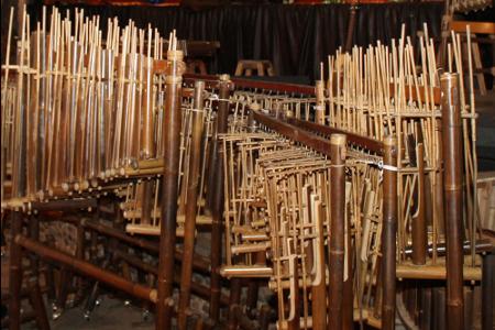 Angklung menjadi warisan budaya Indonesia yang diakui UNESCO