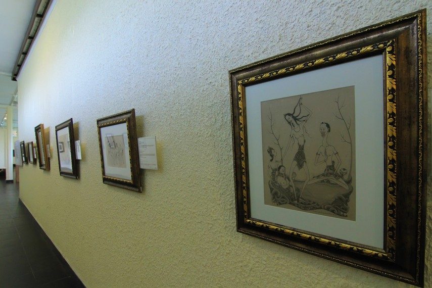 Koleksi Museum Puri Lukisan terbagi menjadi lukisan sebelum 1945, lukisan setelah 1945, lukisan wayang Kamasan, dan ukiran kayu