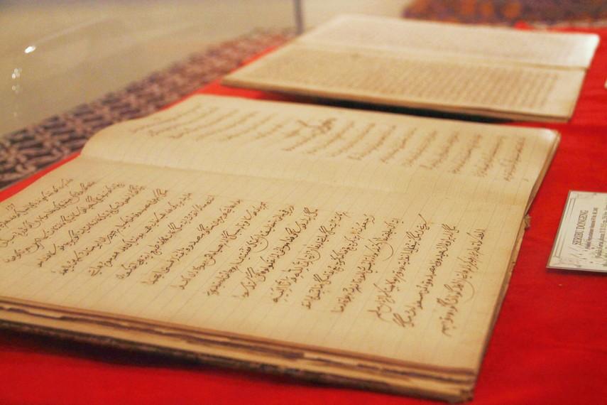 Naskah kuno Seribu Dongeng, sebuah kumpulan cerita dalam bentuk prosa yang ditulis Muhammad Bakir