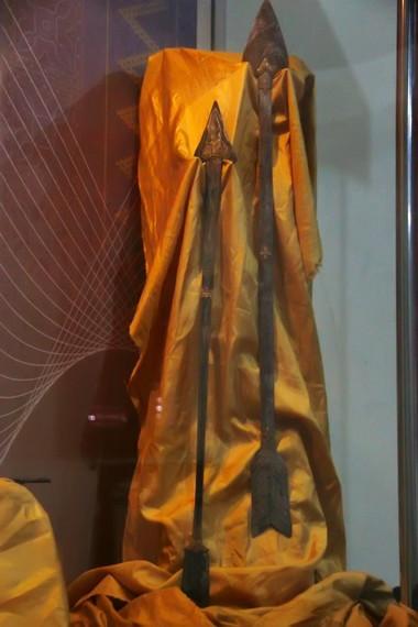 Anak panah yang disimpan di Museum Senjata Tradisional