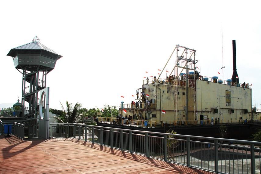 Area sekitar PLTD Apung dibeli pemerintah untuk dijadikan wahana wisata edukasi bencana tsunami