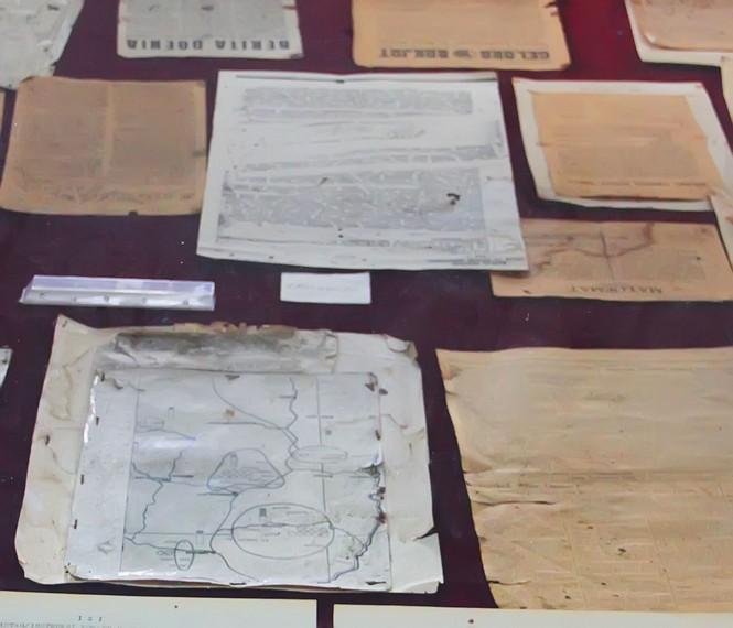 Arsip-arsip yang mengisahkan perjuangan kemerdekaan di Bogor tersimpan di Museum Perjuangan