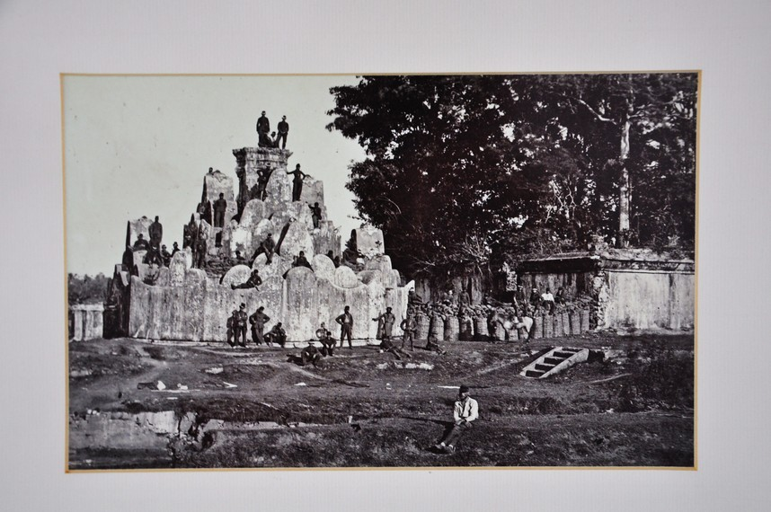Arsip foto Gunongan saat pendudukan Hindia Belanda di akhir 1890-an