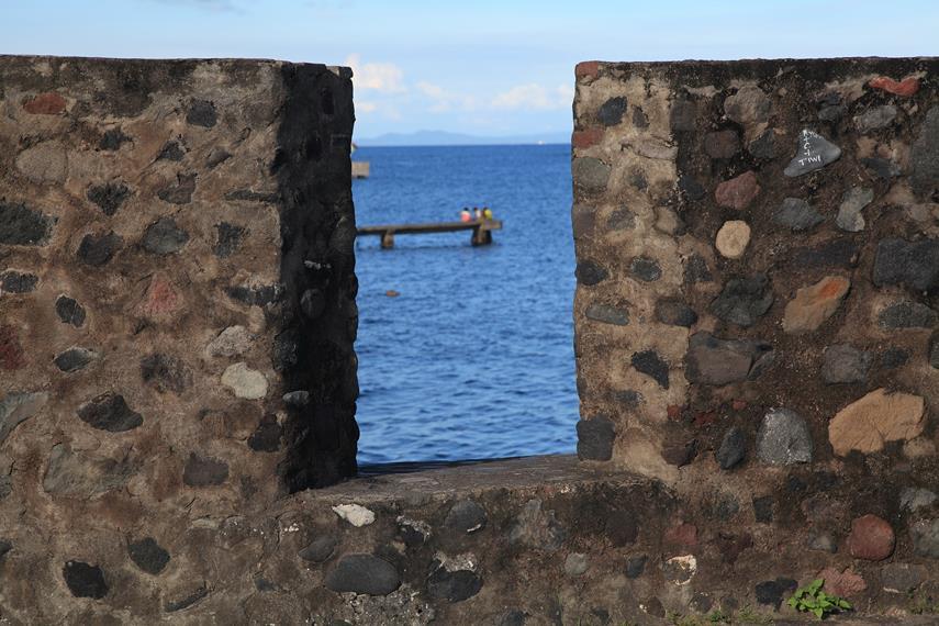 Bagian benteng yang dulunya adalah tempat para penjaga memantau setiap pergerakan di sekitar Benteng