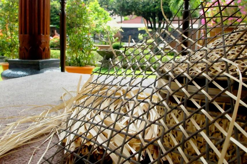 Bambu merupakan tumbuhan tropis yang banyak ditemukan di Indonesia dan memiliki beragam fungsi sebagai penunjang kehidupan manusia