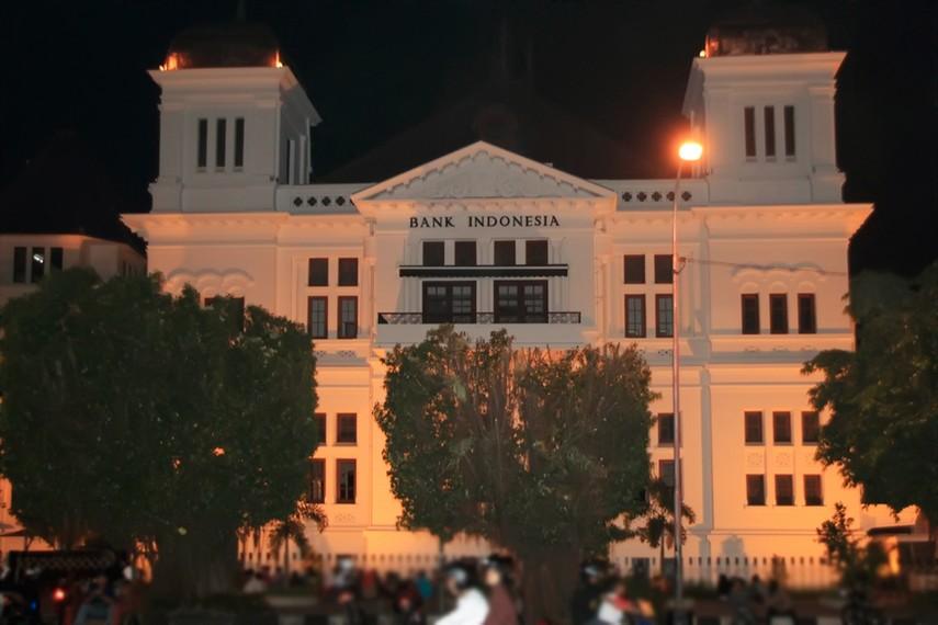 Bangunan Bank Indonesia, salah satu bangunan peninggalan Belanda