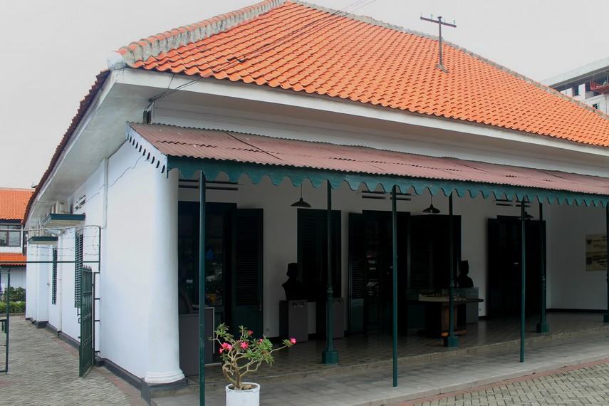 Bangunan rumah milik Sie Kok Liong yang kini menjadi Museum Sumpah Pemuda