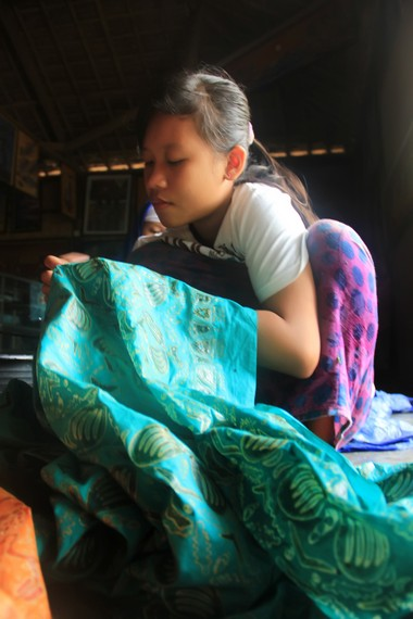Batik sasambo menjadi media seni tiga suku di NTB; Sasak, Samawa, dan Mbojo