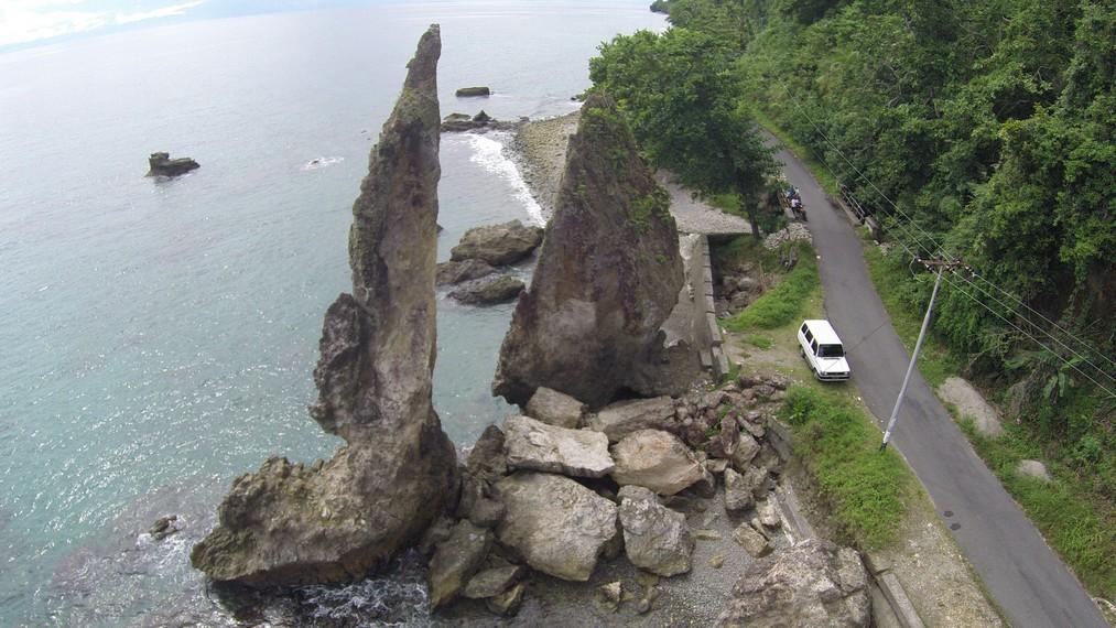 Batu Layar tampak dari ketinggian
