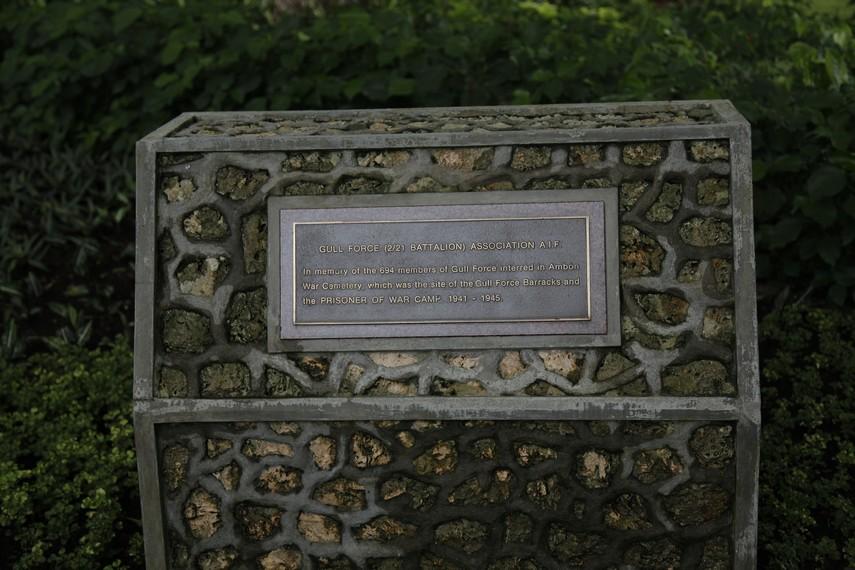 Batu penanda monumen ANZAC