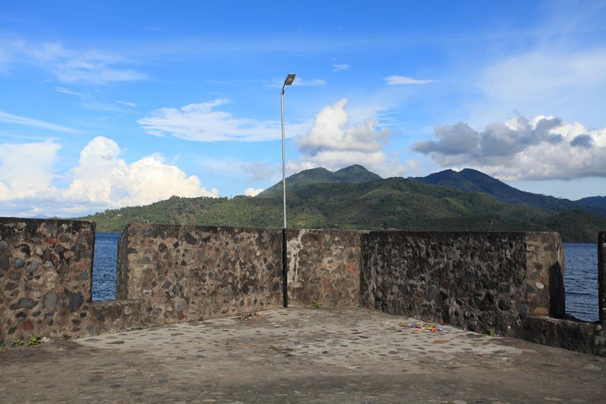 Beberapa bagian benteng yang masih sangat terjaga