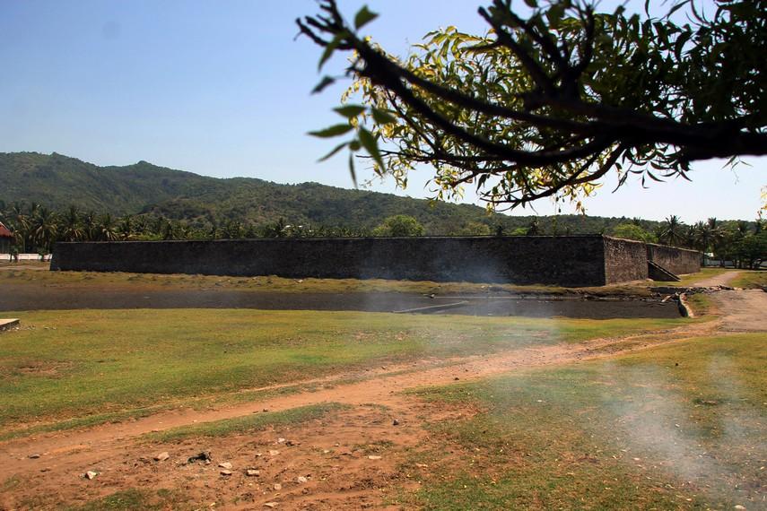 Benteng Indra Patra terdiri dari Benteng Utama dan 3 benteng lainnya