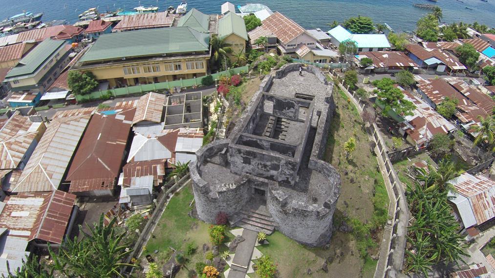 Benteng Tolukko Dengan Kisah Sejarah Indah Di Baliknya Indonesia Kaya