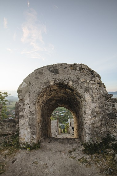 Benteng ini awalnya dibuat sebagai benteng pertahanan dari serangan musuh